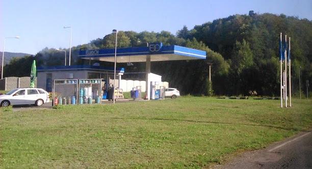 Benzínová stanice EuroOil