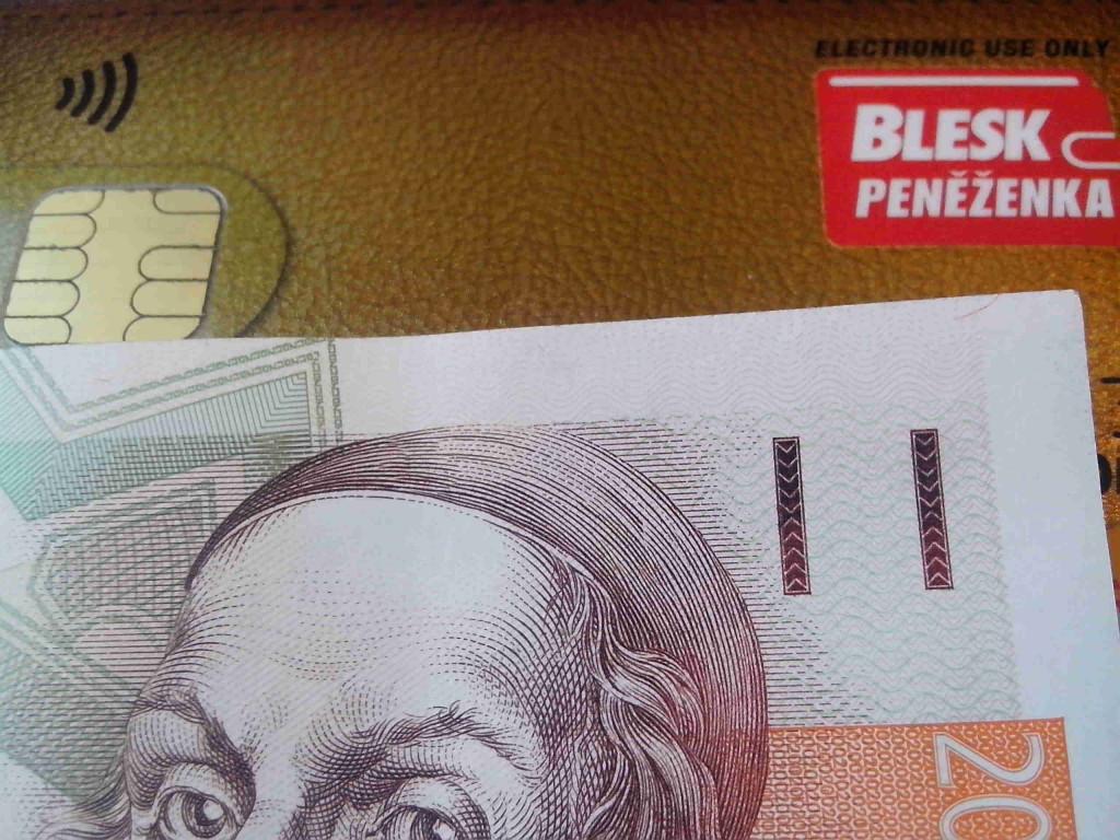 Blesk peněženka